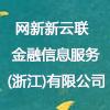 网新新云联金融信息服务(浙江)有限公司