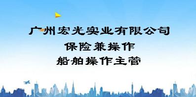 广州宏光实业有限公司