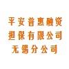 平安普惠融資擔保有限公司無錫分公司