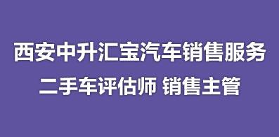 西安中升汇宝汽车销售服务有限公司