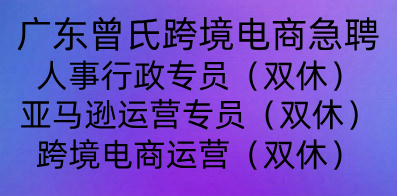 广东曾氏跨境电商有限公司